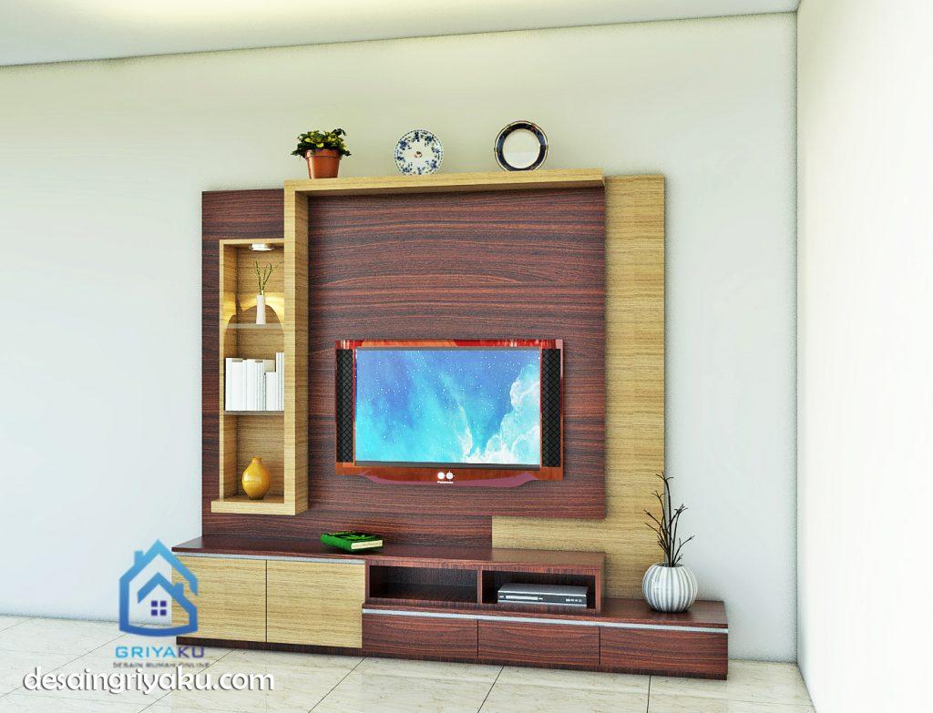 desain backdrop tv