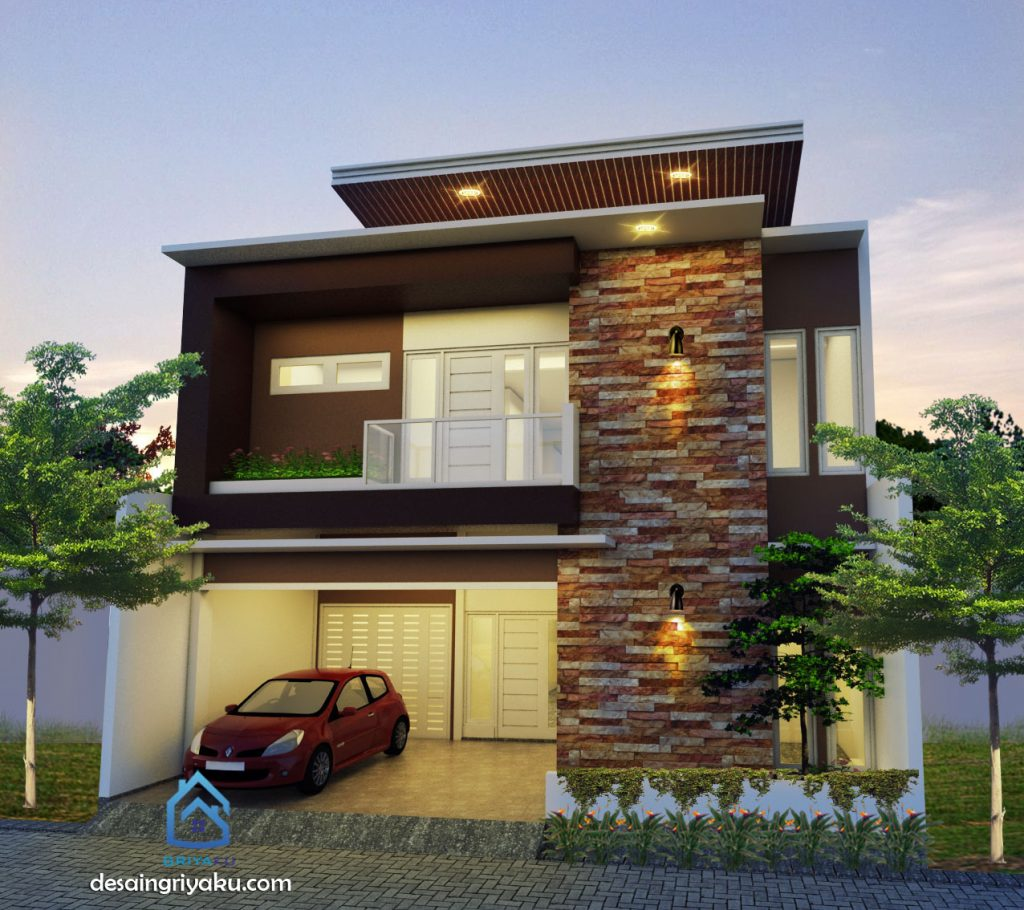 Rumah 10x15 Minimalis 2 Lantai Jasa Desain Rumah Online