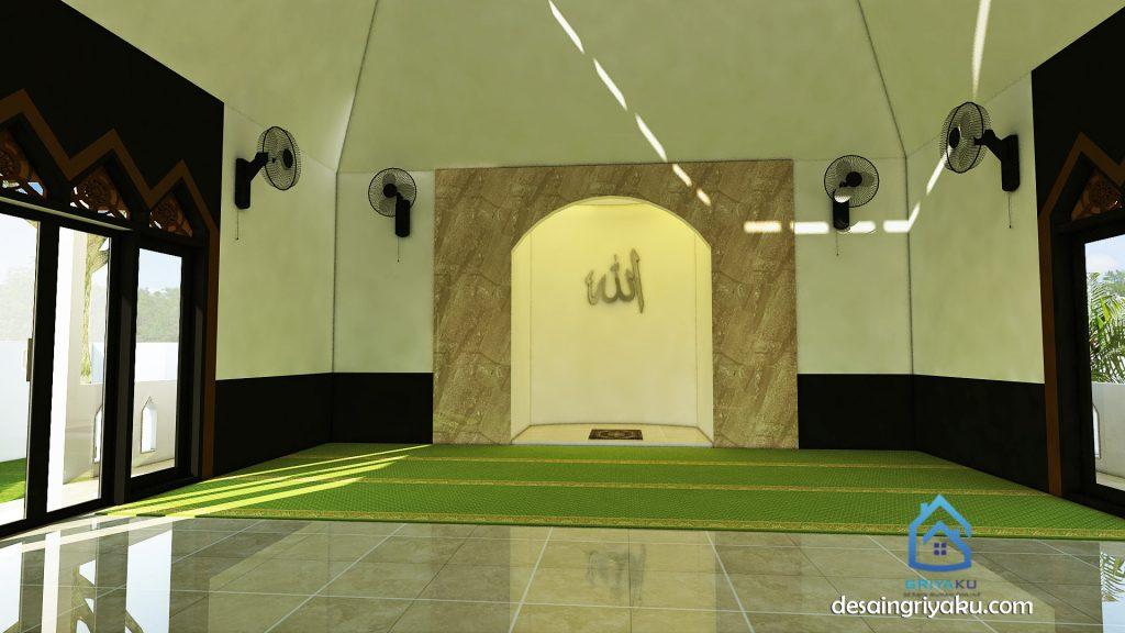 desain interior mushola 10x12