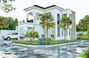 Rumah 14×17 Mediterania 2 Lantai