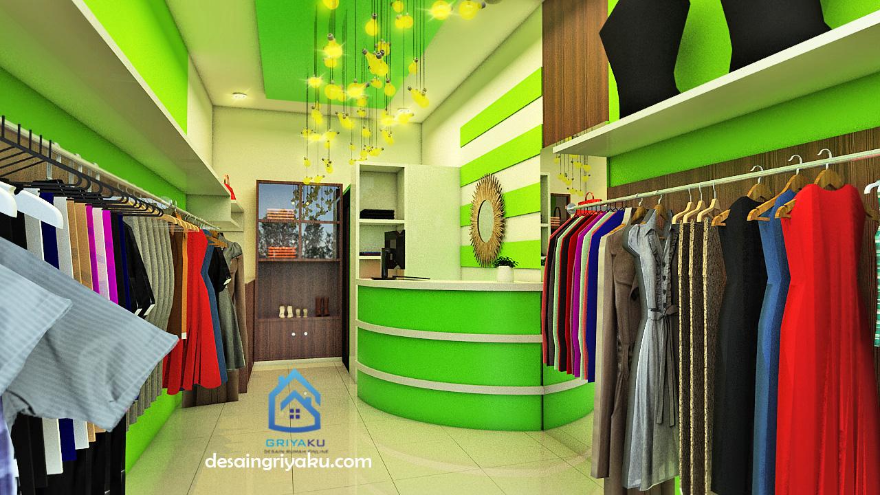 Desain Toko Baju Mungil