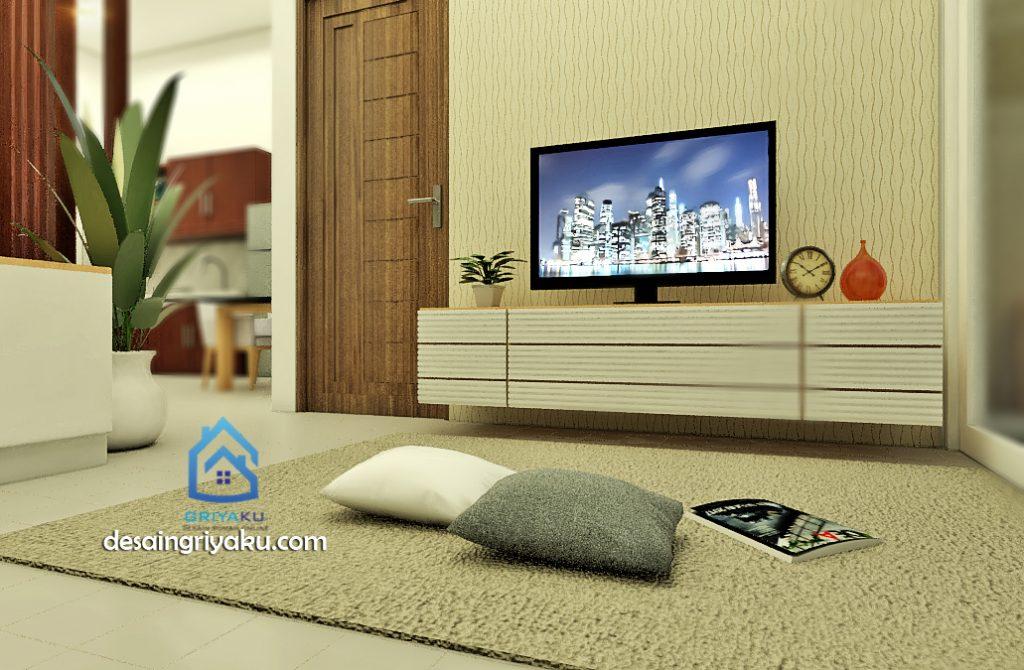 rumah 8x15 interior 2 1024x670 - Rumah 8x15 Minimalis 1 lantai