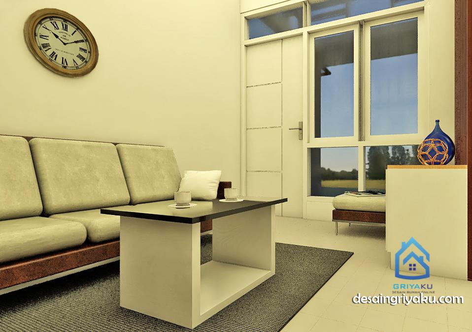 rumah 8x15 interior 3 - Rumah 8x15 Minimalis 1 lantai