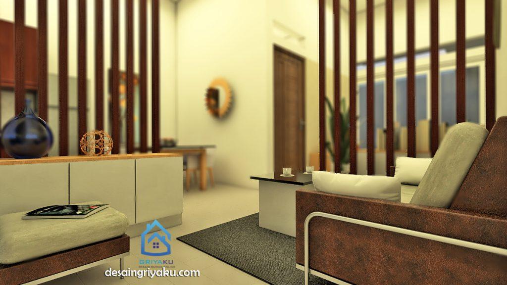 rumah 8x15 interior 5 1024x576 - Rumah 8x15 Minimalis 1 lantai