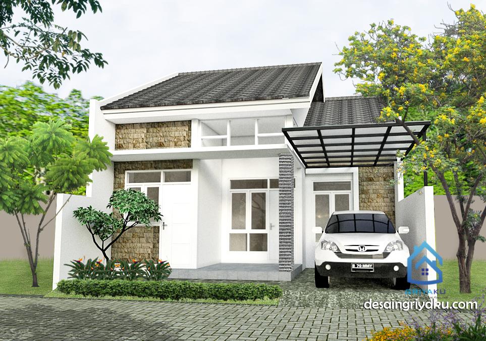 rumah 8x15 minimalis 1 lantai