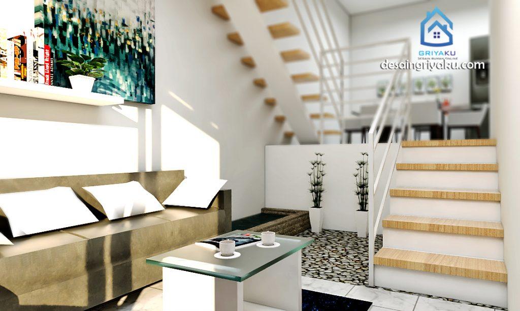 split interior 1024x612 - Rumah 5x9 Split Level 2 Lantai