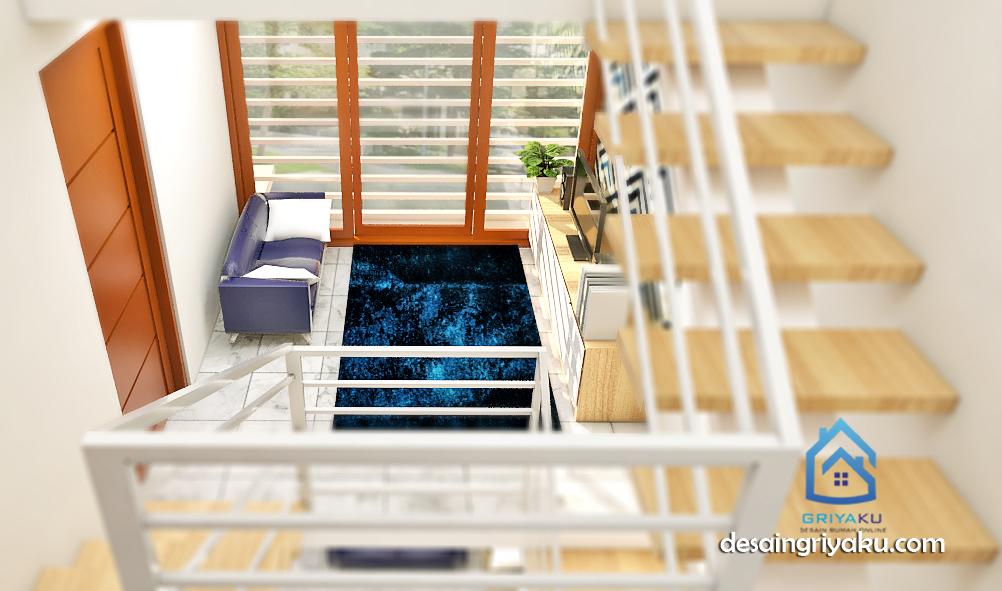 interior rumah split level