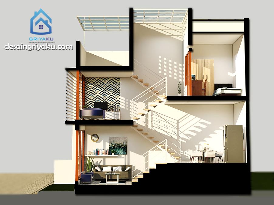 rumah split level