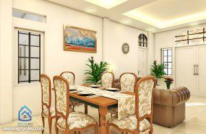rumah 14x17 mediterania 2 lantai - jasa desain rumah online