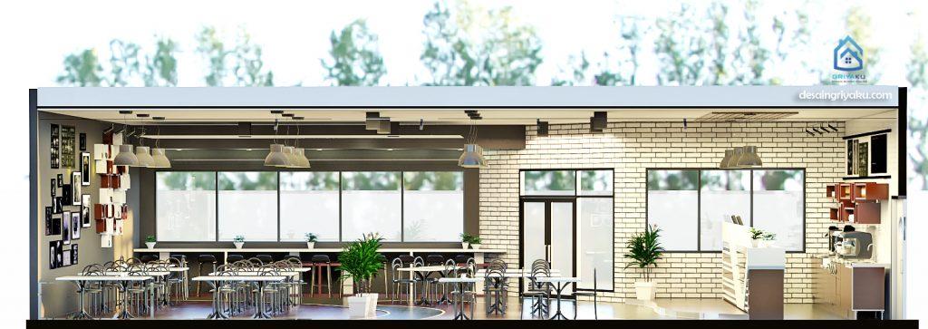 potongan cafe 10x15 2 1024x363 - desain cafe bergaya industrial 10x15