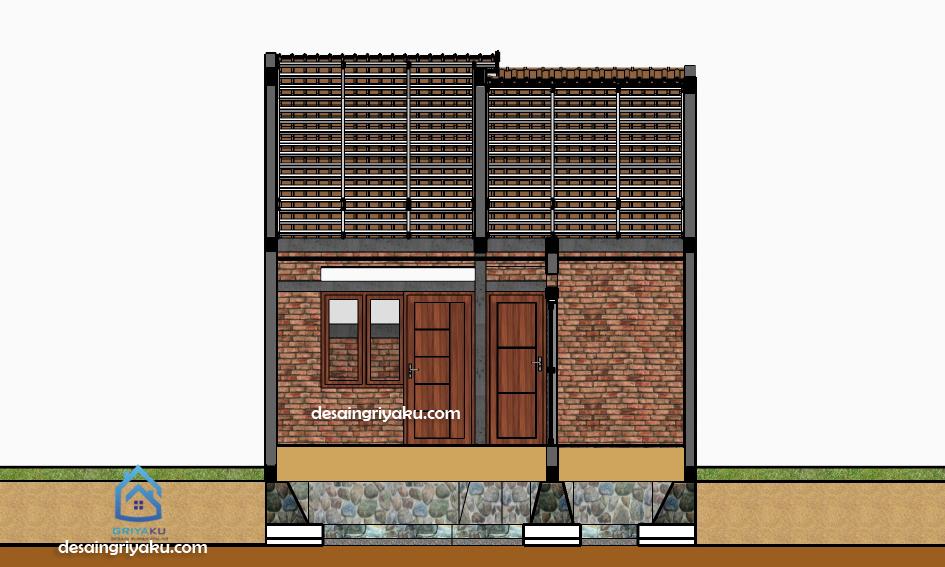 potongan rumah 6x15 sederhana etnik (3)