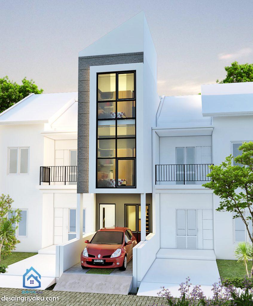 Rumah 3x15 Minimalis Jasa Desain Rumah Line