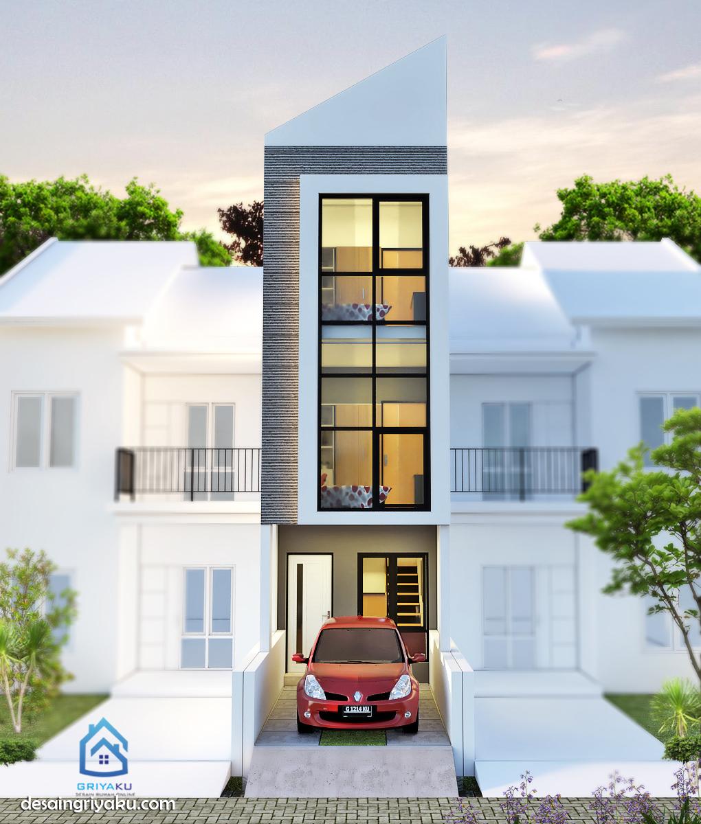Rumah 3×15 Minimalis