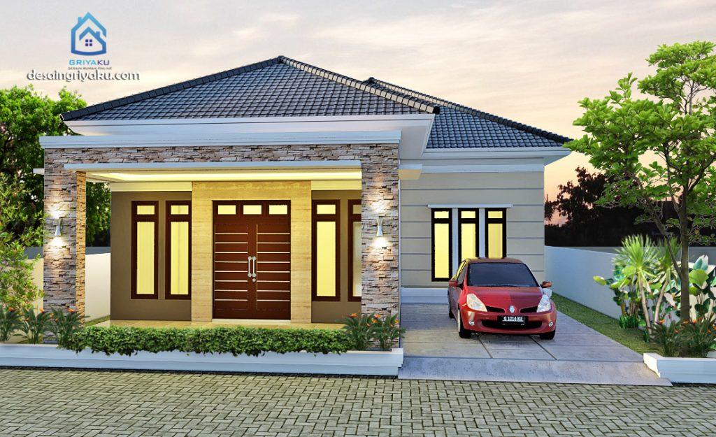 rumah 10x21 1024x625 - Rumah Lebar 10 meter
