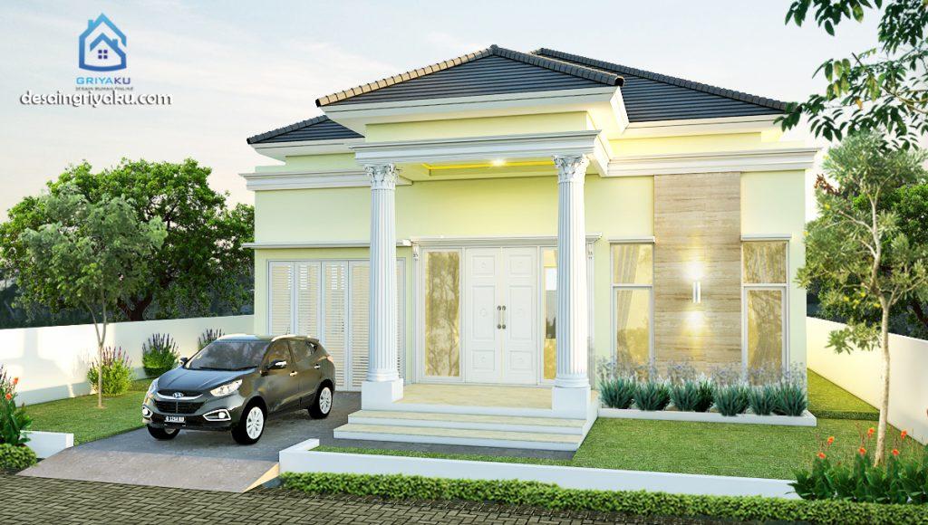 rumah 17x18 klasik 1024x580 - Rumah Lebar diatas 10 meter