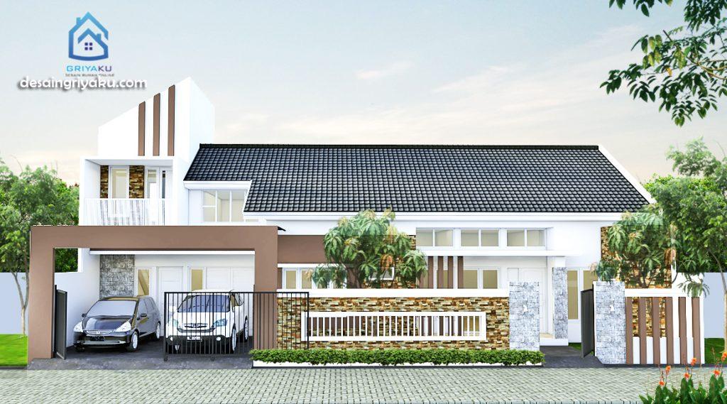 rumah 18x12 minimalis 1024x569 - Rumah Lebar diatas 10 meter