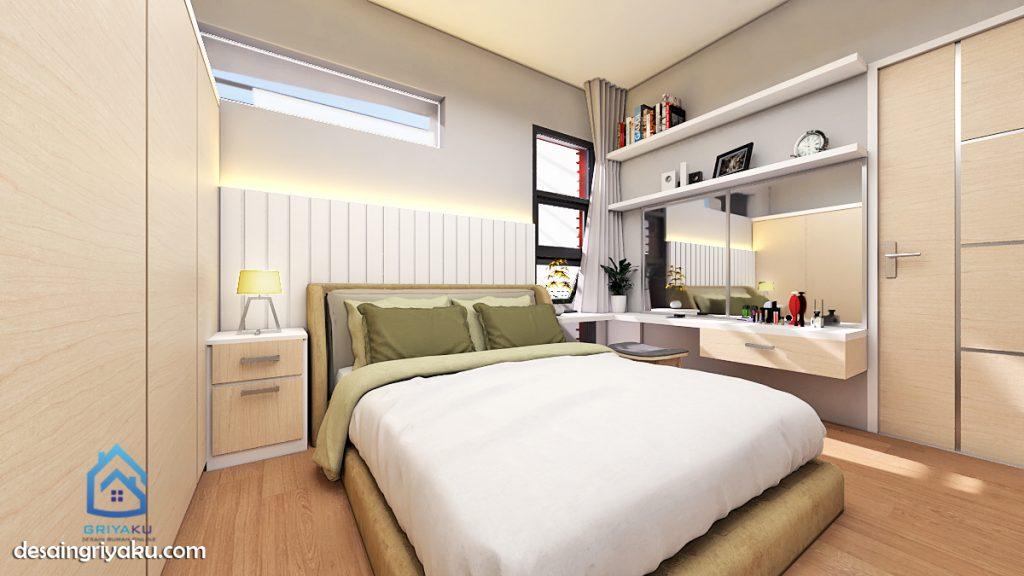 interior kamar tidur minimalis