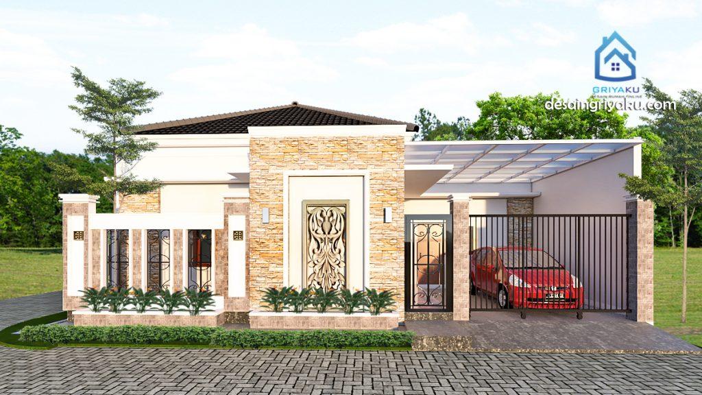 rumah 12x10 hook tropis 1024x576 - Rumah Lebar diatas 10 meter