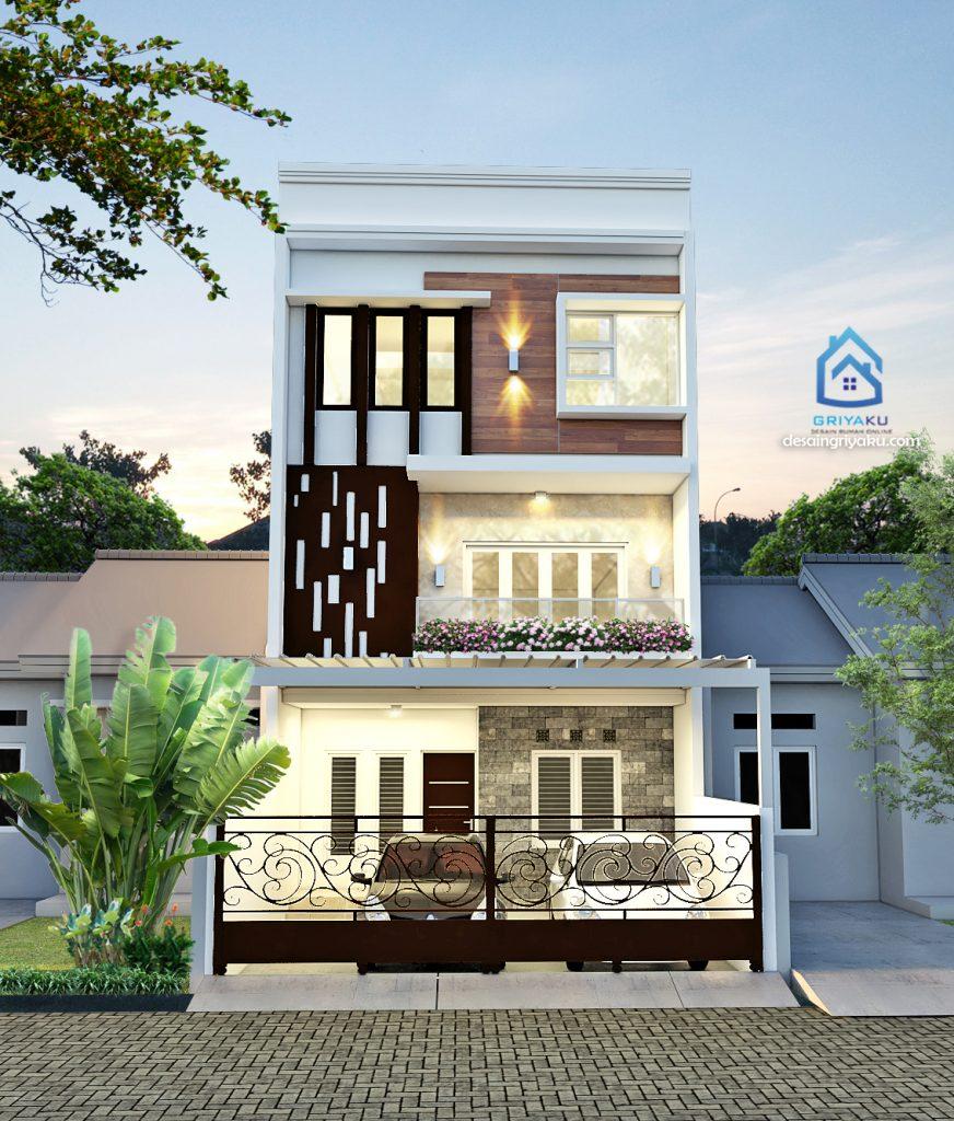 rumah 6x17 minimalis 872x1024 - Rumah Lebar 6 meter