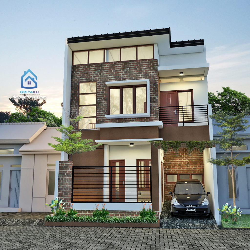 rumah 7x10 industrial 1024x1024 - Rumah Lebar 7 meter