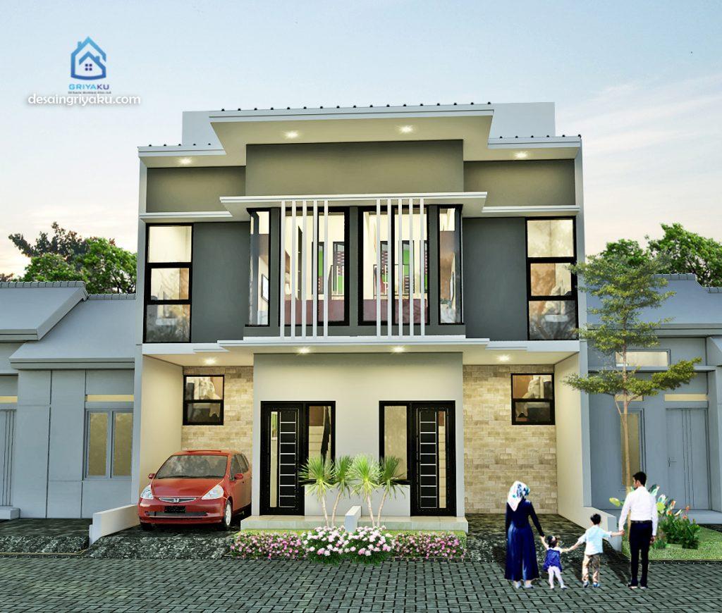 rumah 9x10 split level 1024x870 - Rumah Lebar 9 meter