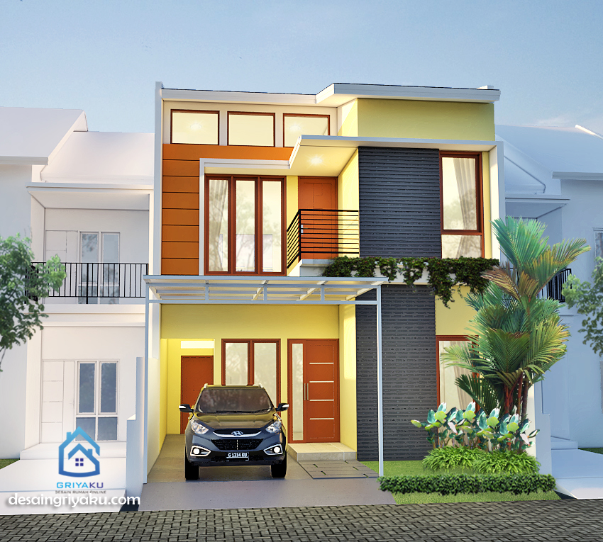 rumah 7x12 minimalis 2 lantai