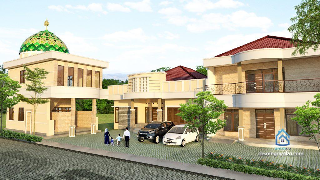 rumah keluarga 32x30 1024x576 - Rumah Lebar diatas 10 meter