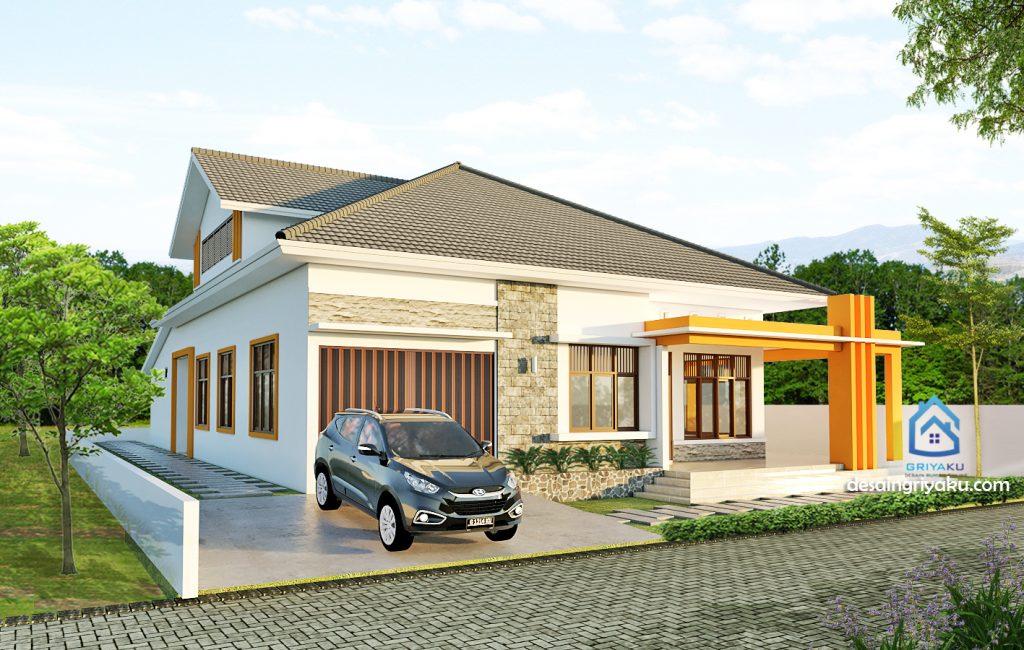 rumah14x22 minimalis 1024x650 - Rumah Lebar diatas 10 meter