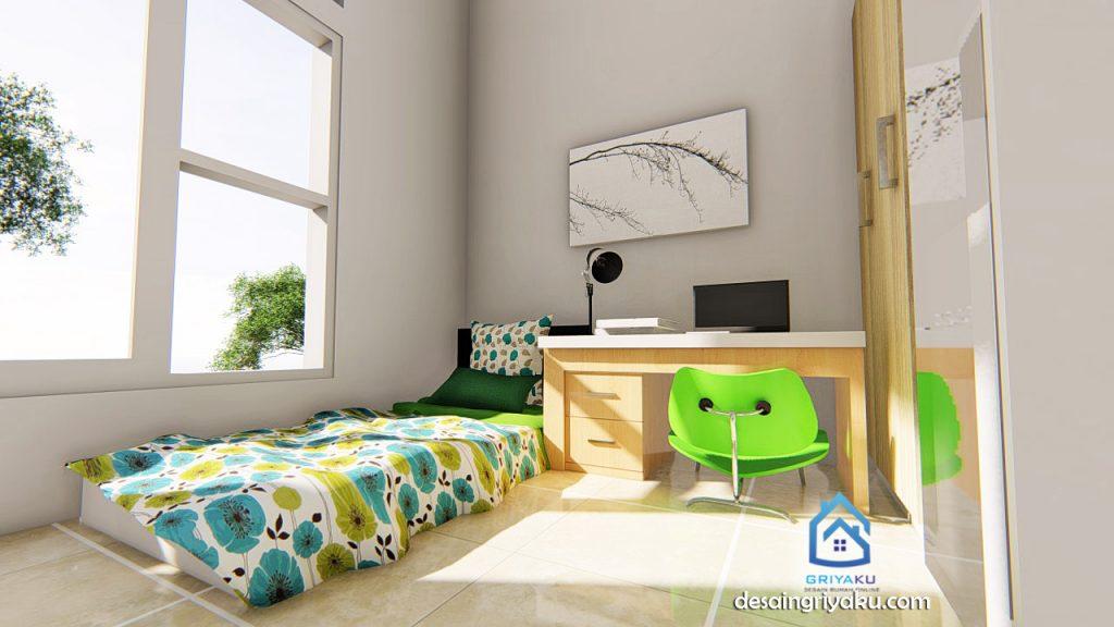 Interior Rumah Kos 20x15 kamar kos