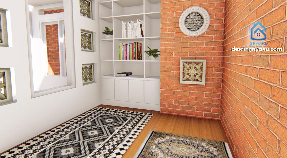 Interior Rumah Kos 20x15 mushola