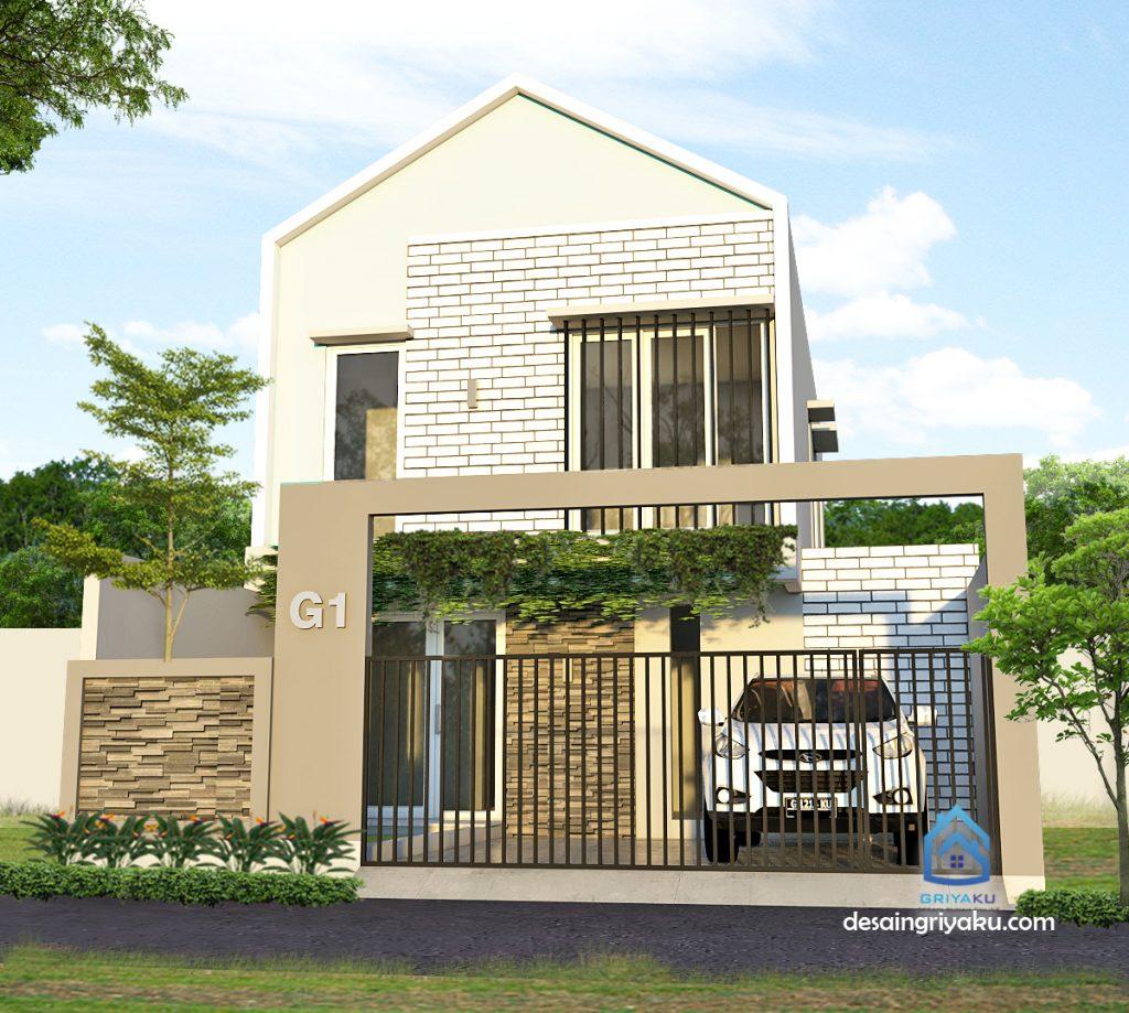 rumah 8x15 minimalis 2 lantai 1024x919 - Rumah Lebar 8 meter