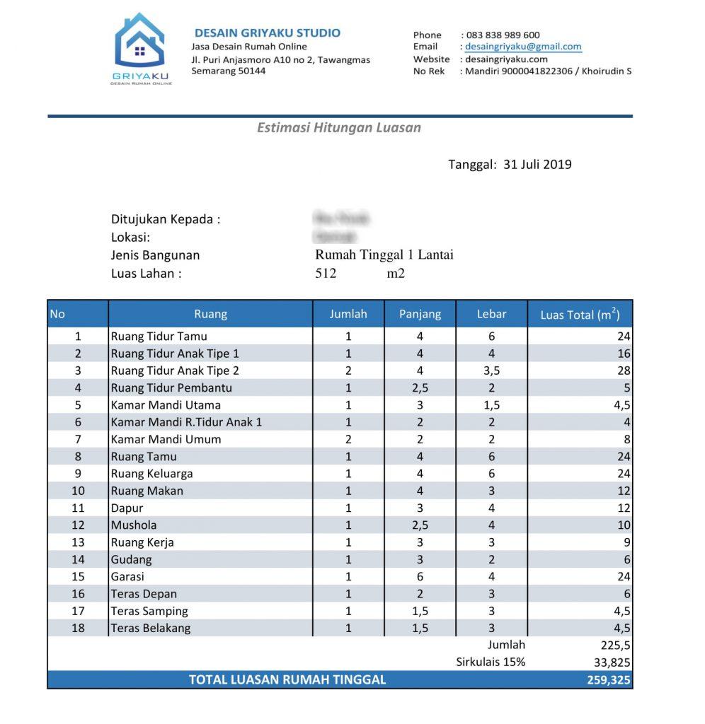 hitungan ruang 996x1024 - Proses Tahapan Desain Rumah