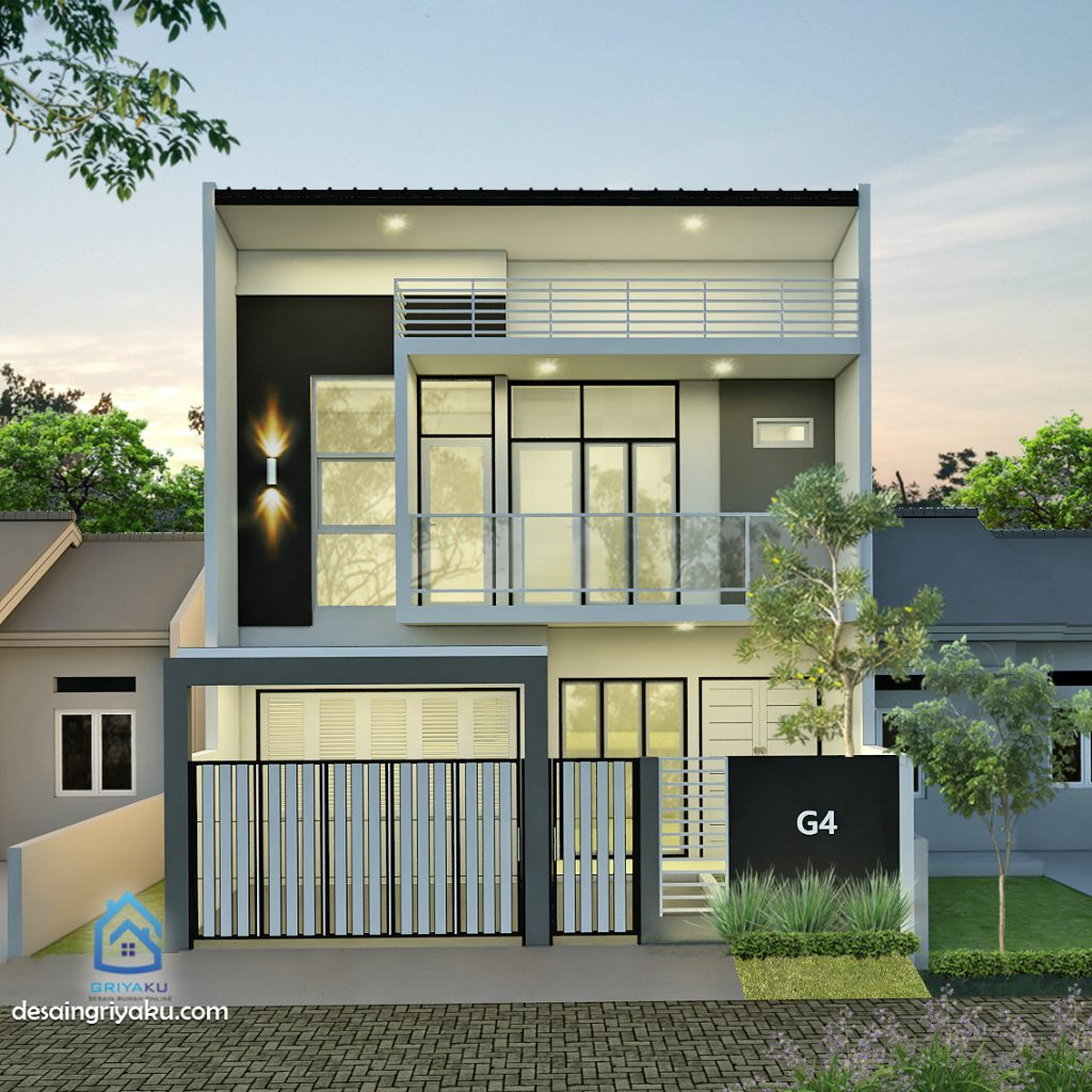 rumah 8x12 split level