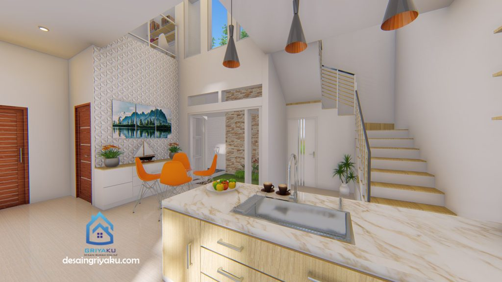 dapur 9x12 1024x576 - Rumah 9x12 Minimalis