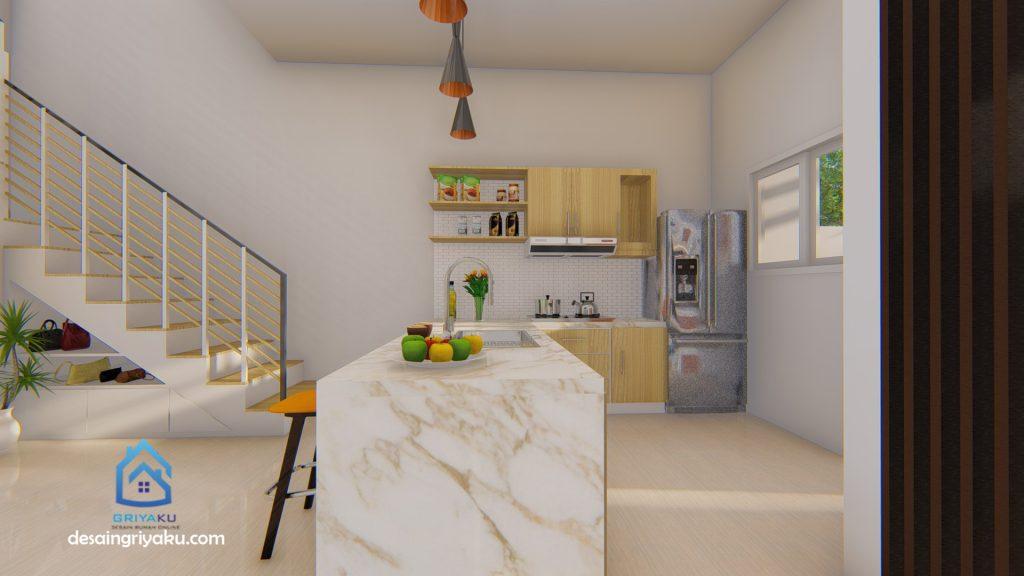 dapur 9x12 2 1024x576 - Rumah 9x12 Minimalis