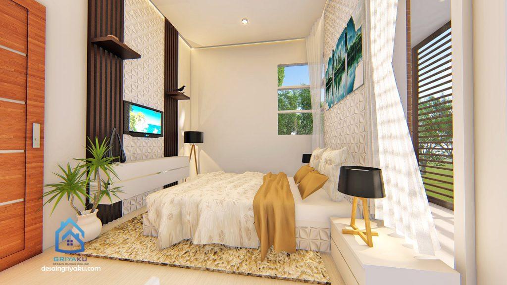 interior master bedroom 1 1024x576 - Rumah 9x12 Minimalis