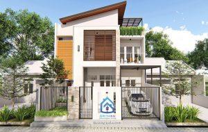Rumah 5x9 Split Level 2 Lantai Jasa Desain Rumah Online