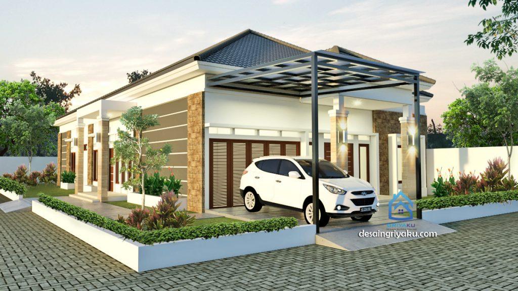 rumah 16x32 tropis 1024x576 - Rumah Lebar diatas 10 meter