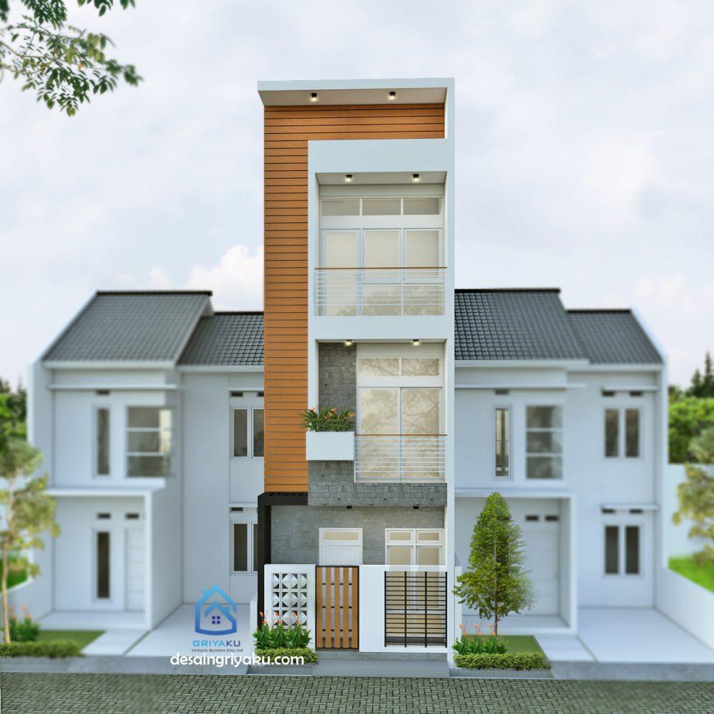 rumah 4x12 minimalis 3 lantai 1024x1024 - Rumah Lebar sempit