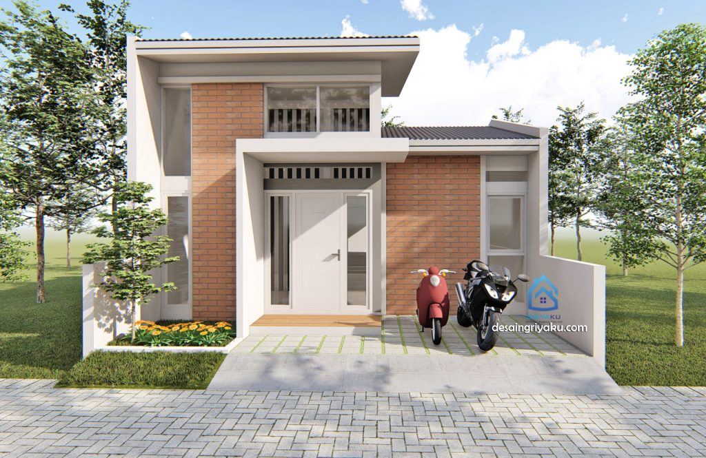 rumah 7x10 minimalis 1024x665 - Rumah Lebar 7 meter