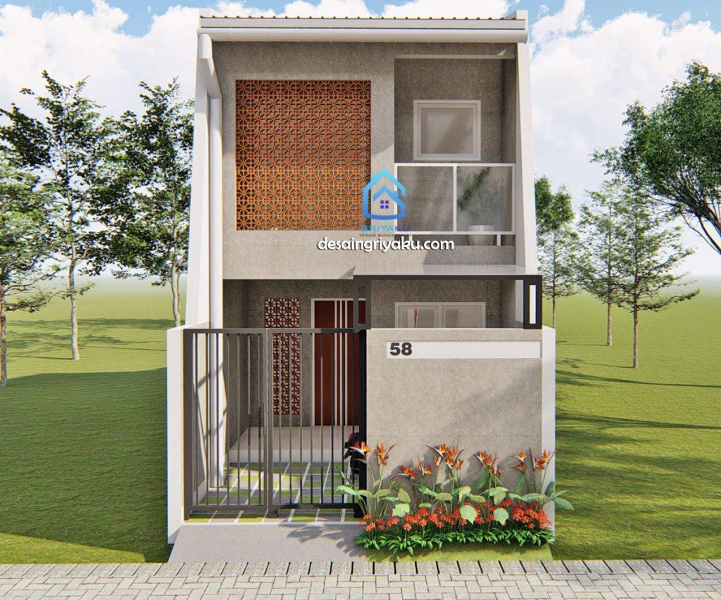 Abdillah Jakarta 4x12 1 1 1024x853 - Rumah Lebar sempit
