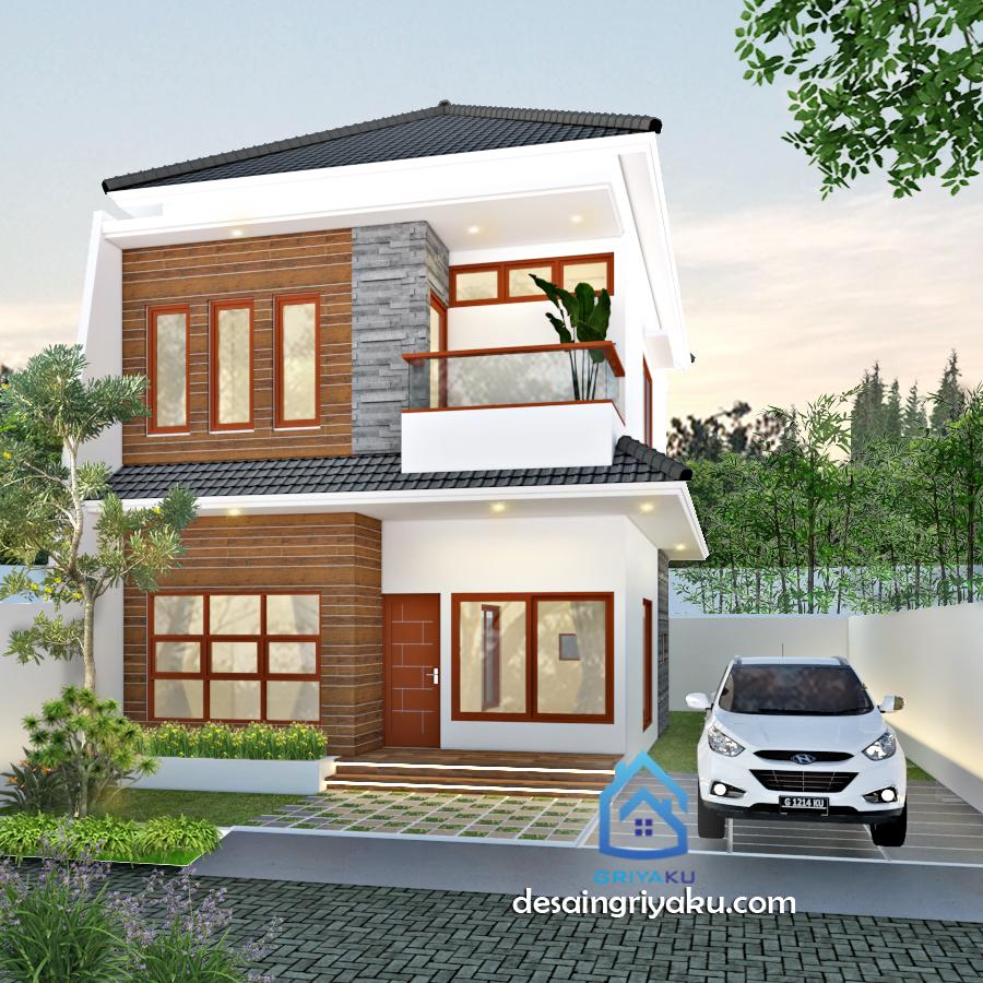 Rumah 11x16 Tropis Minimalis - Rumah Lebar diatas 10 meter