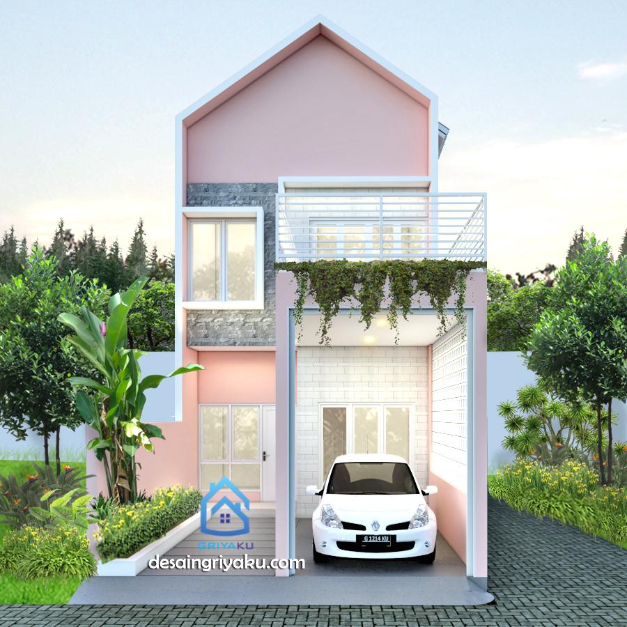 eni14c - Rumah Lebar 5 meter