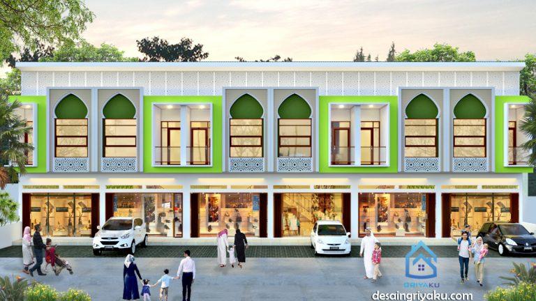 ruko islami1 768x432 - Jasa Desain Rumah Online