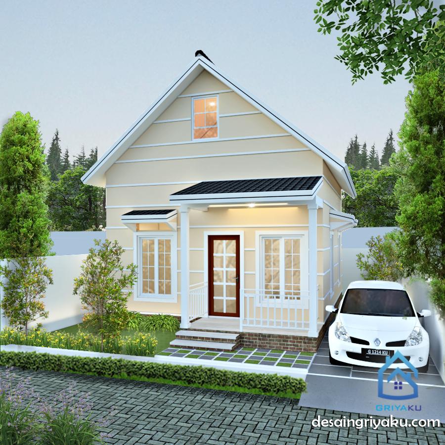 rumah 10x12 farmhouse - Rumah Lebar 10 meter