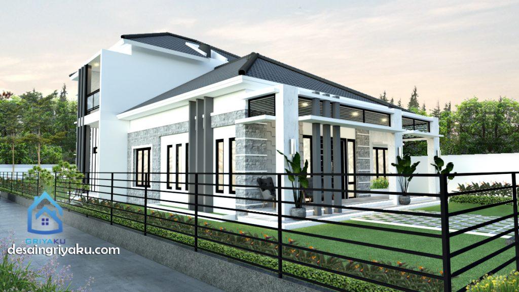 rumah 15x80 minimalis lahan hook 1024x576 - Rumah Lebar diatas 10 meter
