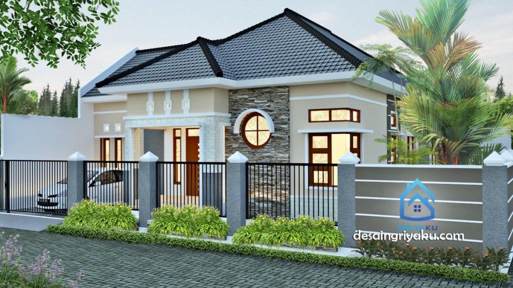 Rumah 16 x 23 Minimalis Tropis 1024x576 - Rumah Lebar diatas 10 meter
