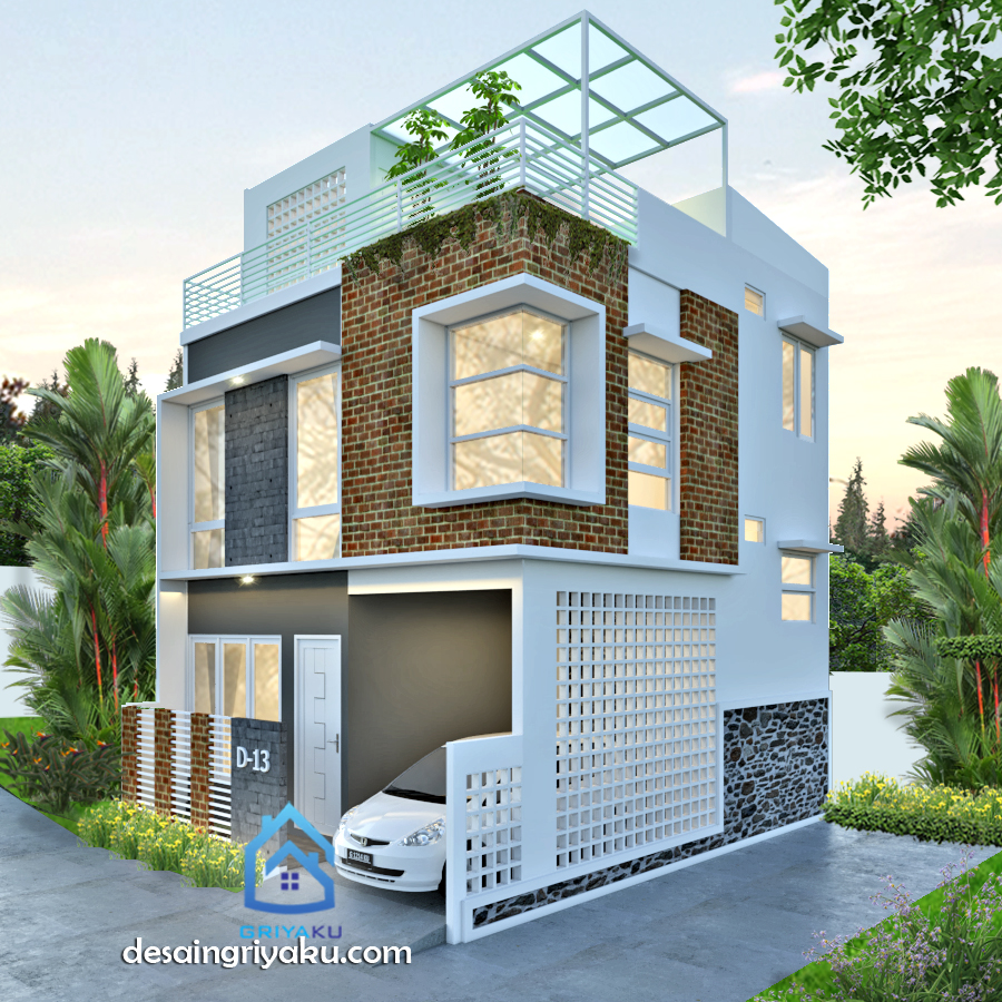 Rumah 7 x 8 hook 3 lantai - Rumah Lebar 7 meter