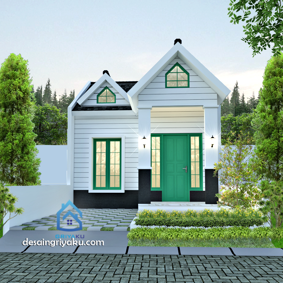 Rumah Type 36 American style - Rumah Lebar 6 meter