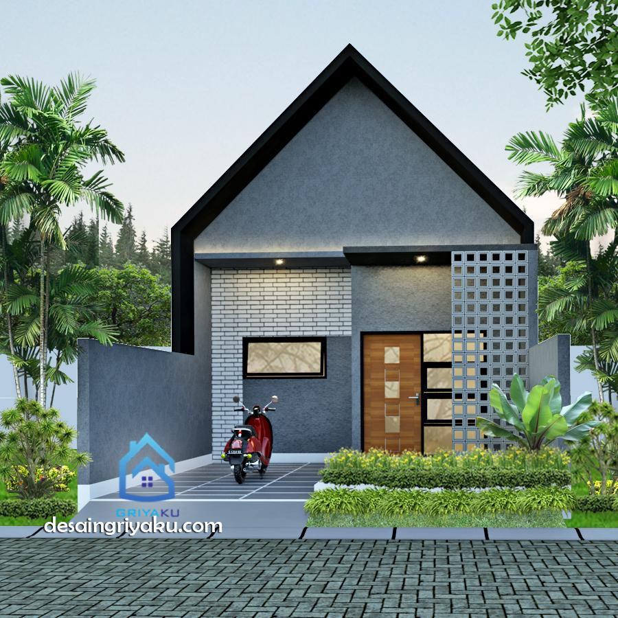 Rumah Type 36 Industrial - Rumah Lebar 6 meter